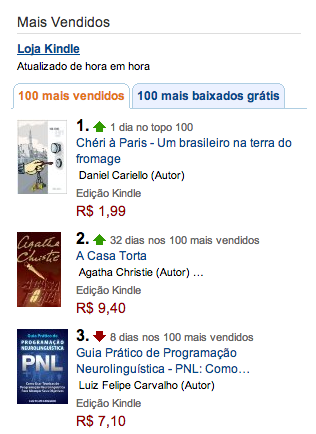 Mais vendido na Amazon - vertical