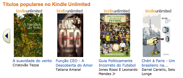Títulos populares Kindle Unlimited